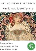 Curs online - De la Art Nouveau la Art Deco: Arta, moda si societate