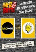 Spectacole din Bucuresti - Impro Battle - ImproHigh vs. Trupa Obligó
