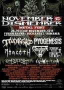Festivaluri - November to Dismember Metal Fest