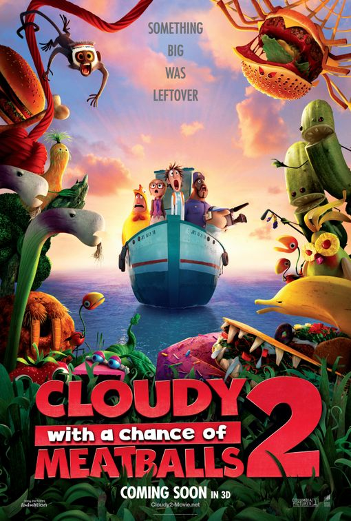 Cinema - Cloudy with a Chance of Meatballs 2