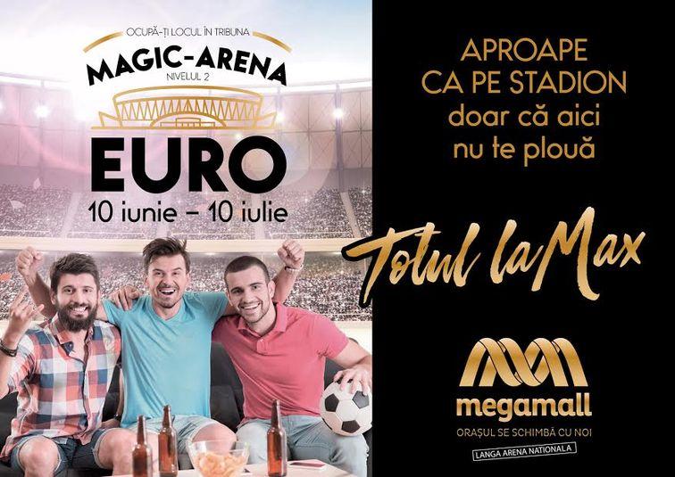 Alte evenimente - Meciurile din UEFA EURO 2016 se vad la Magic Arena