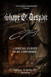 Concerte din Bucuresti - Shape of Despair si Clouds