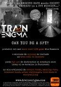 Alte evenimente din Bucuresti - Train Enigma - cel mai mare real life game din Romania. probabil.