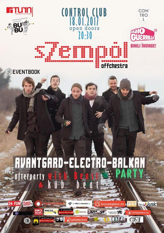 Concerte din Romania - sZempöl Offchestra
