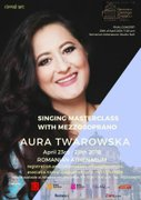 Masterclass cu mezzosoprana Aura Twarowska