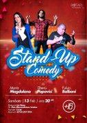 Spectacole - Stand Up Comedy cu Maria Magdalena, Fulvio Balboni si Tiberiu Popovici