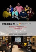 Spectacole din Bucuresti - IMPRO Night at Artist Cafe