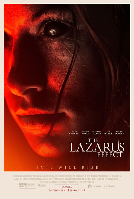 Cinema - The Lazarus Effect