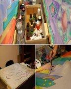 Workshops - Experimenteaza de acasa - curs de arta pentru copii
