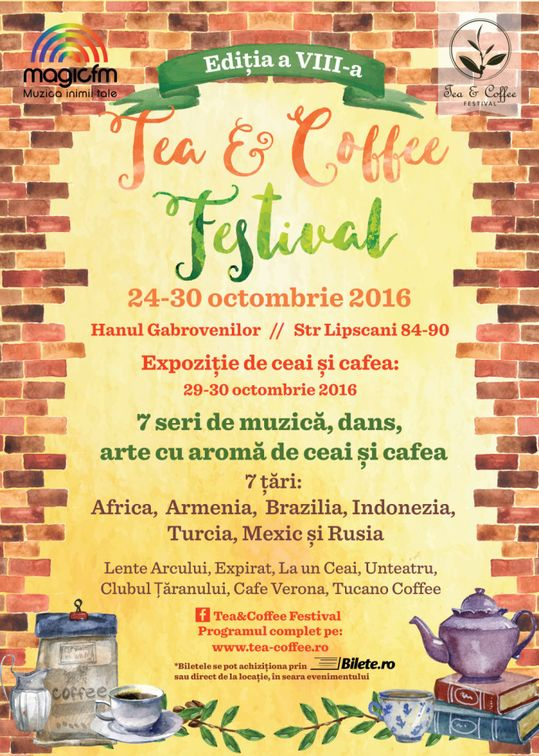 Festivaluri - Tea & Coffee Festival