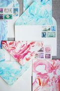 Workshops din Romania - Atelier de Paste: marbling