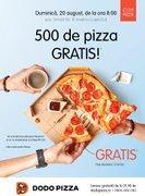 Ziua Pizzei - 500 de pizza GRATIS