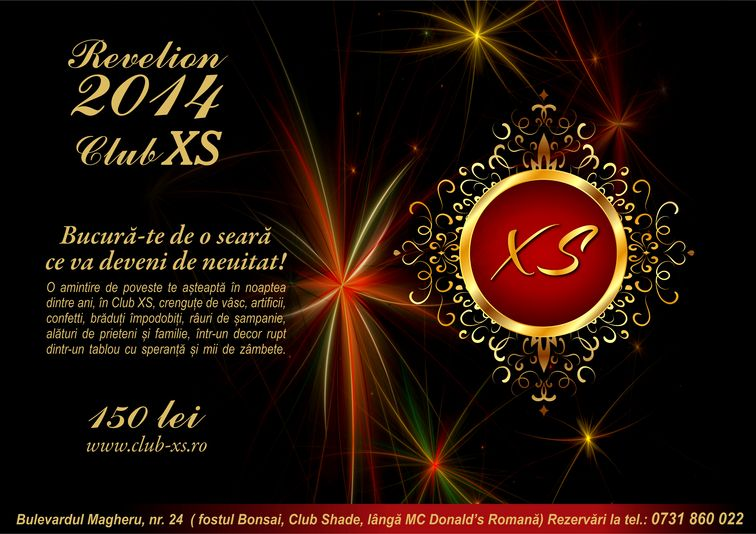 Revelion 2014 - Club XS