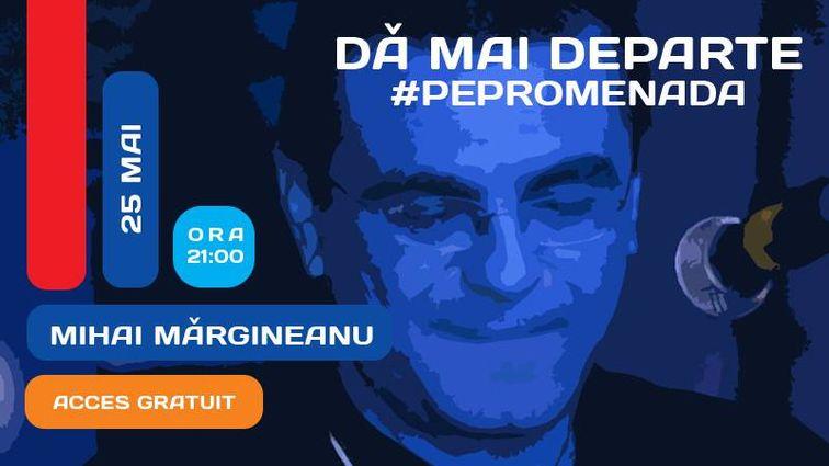 Concerte din Bucuresti - Mihai Margineanu | Concert live #PePromenada