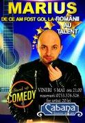 Spectacole din Romania - Stand up cu Marius de la Romanii au Talent