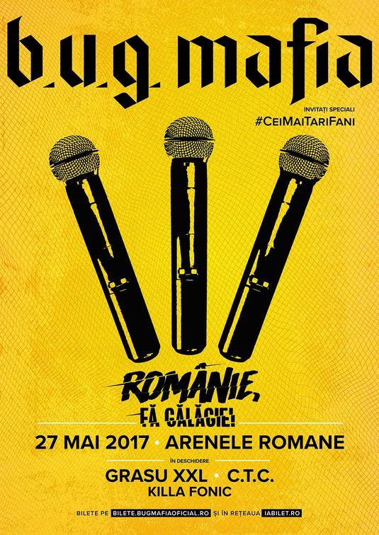 Concerte din Bucuresti - B.U.G. Mafia