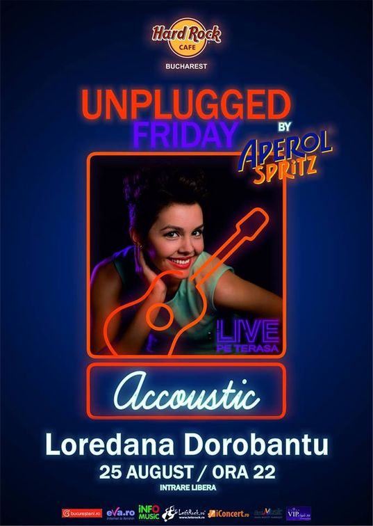Unplugged Friday cu Loredana Dorobantu