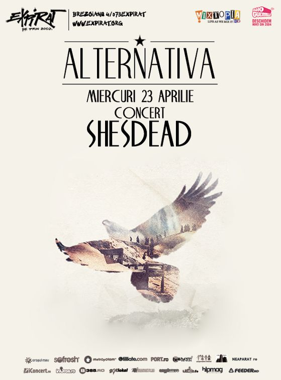 Concerte - Alternativa - Shesdead