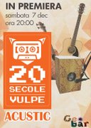 20 Secole Vulpe - Concert Acustic