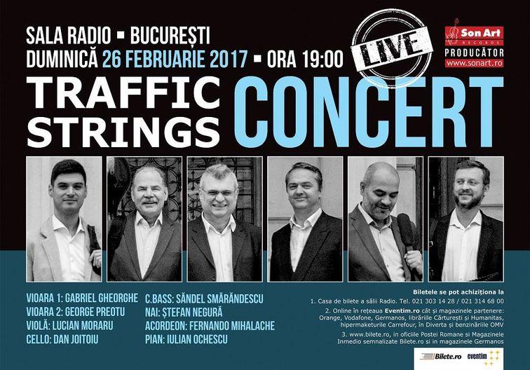 Concerte din Bucuresti - Traffic Strings