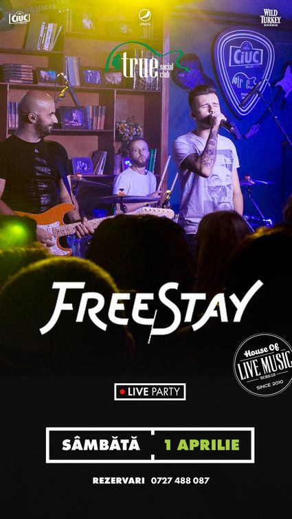 Concerte din Bucuresti - FreeStay Party