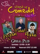 Spectacole - Stand Up Comedy si Magie
