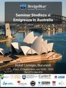 Workshops din Bucuresti - Studiaza si Emigreaza in Australia