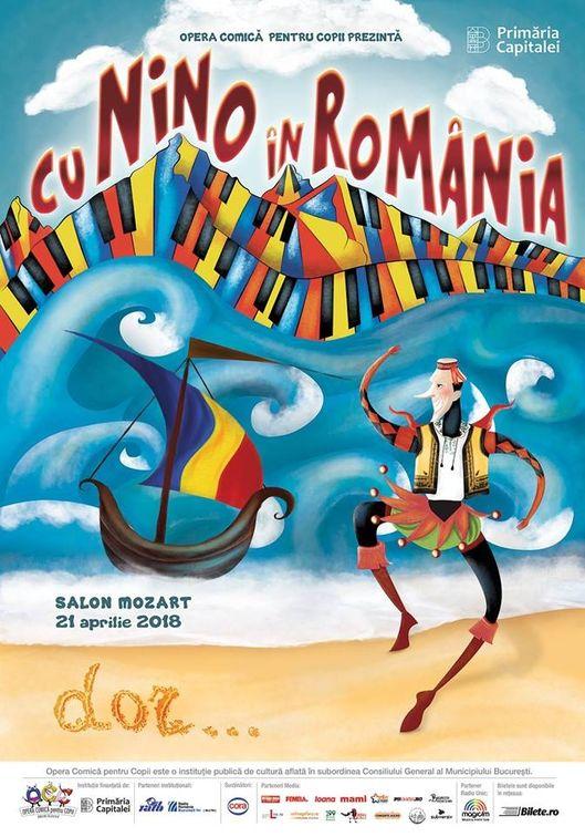 Spectacole din Romania - Cu Nino in Romania