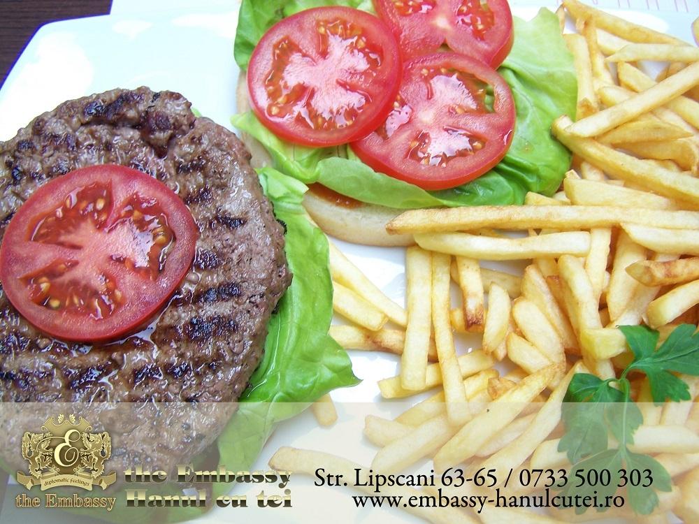 Hamburger Black Angus