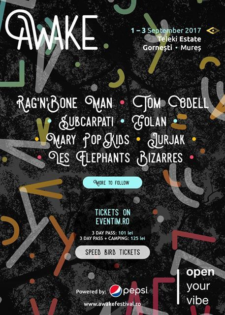 Festivaluri din Romania - Awake Festival
