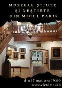 Workshops - Curs online - Muzeele stiute si nestiute din Micul Paris