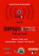 """""""Improv Morse Show"""" - Spectacol de Improvizatie cu Trupa Funkey"""