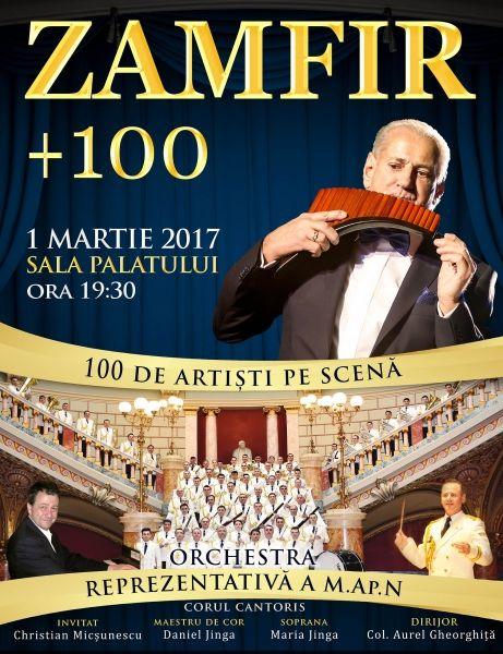 Concerte din Bucuresti - Zamfir + 100