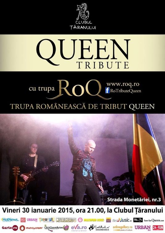 Tribute Queen cu RoQ