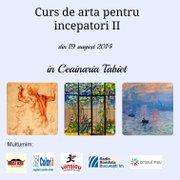 Workshops - Curs de arta pentru incepatori II