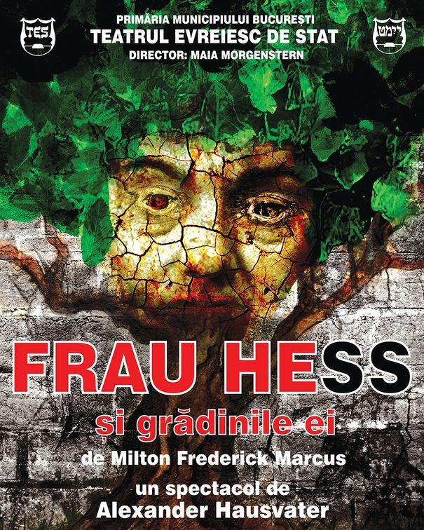 Piese de teatru - Frau Hess si gradinile ei