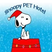 Snoopy Pet Hotel