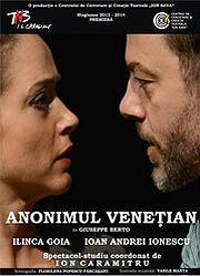 Piese de teatru din Bucuresti - Anonimul venetian