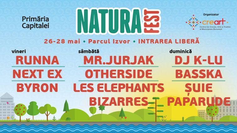 Concerte din Bucuresti - Natura Fest 2017
