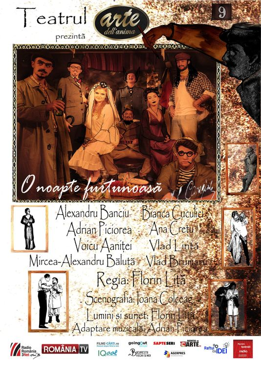 Piese de teatru din Bucuresti - O noapte furtunoasa