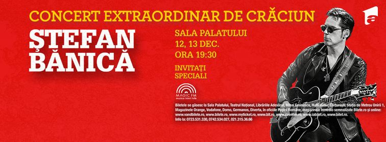 Concert extraordinar de Craciun - Stefan Banica Jr.