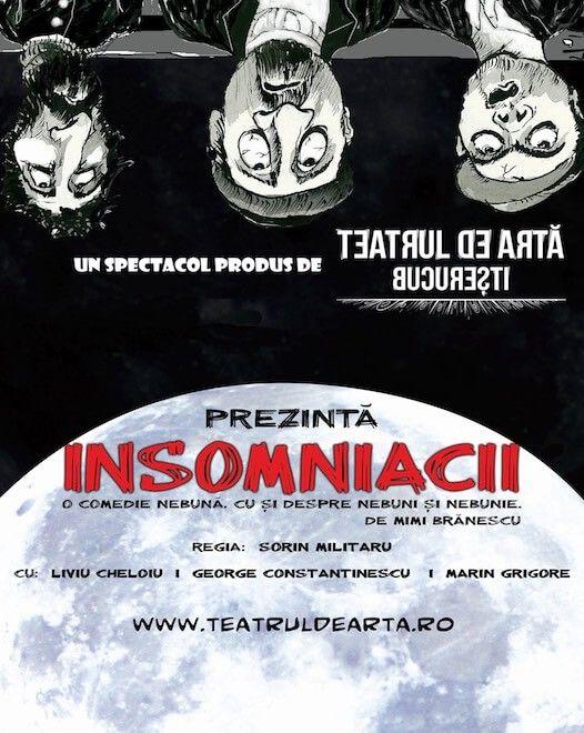 Piese de teatru din Bucuresti - Insomniacii
