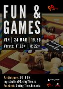 Fun and Games Night! – Seara de Jocuri!