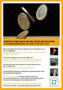 Conferinte din Romania - Sensitive Compliance and AML issues and solutions