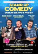 Spectacole din Romania - Stand-Up Comedy - Cristian Dumitru & Friends!