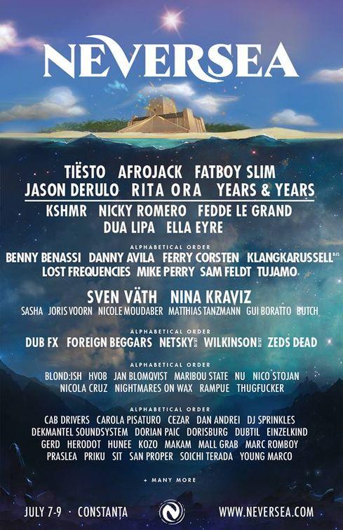 Concerte din Romania - Neversea Festival