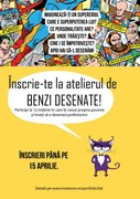 Workshops - Atelier de benzi desenate (12-16 ani)
