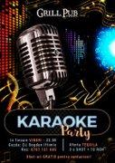 Karaoke Party Bucuresti in fiecare Vineri - Grill Pub