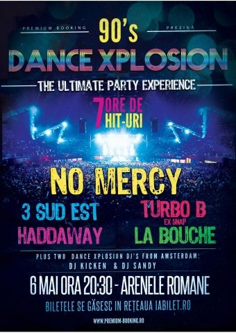 Concerte din Bucuresti - 90's Dance Xplosion - The Ultimate Party Experience