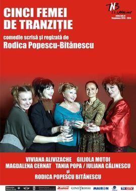 Piese de teatru din Bucuresti - Cinci femei de tranzitie